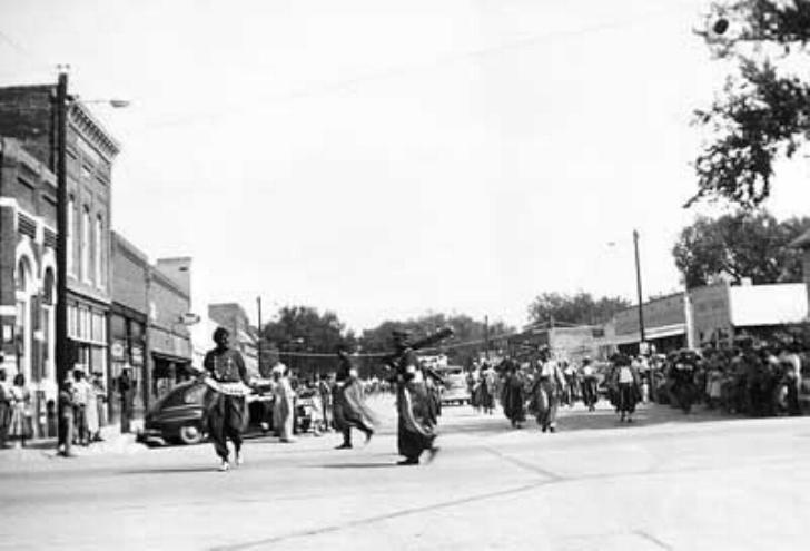 1954 Old Settlers Parade