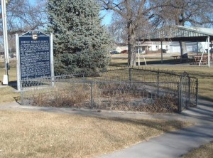 Pawnee Grave in The City Park